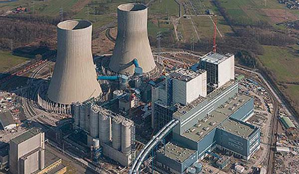RWE coal power plant in Germany