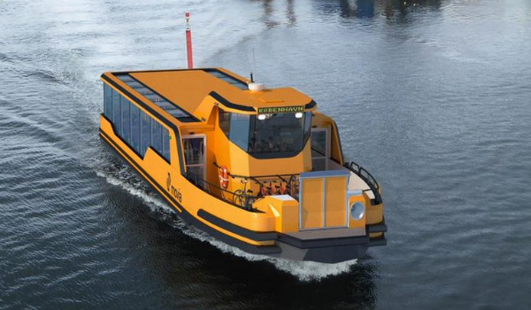 Copenhagen electric shuttle boat