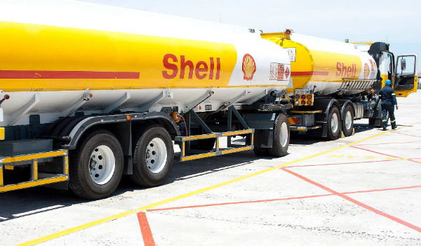 Shell-road tanker
